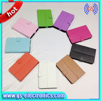 Universal tablet case for ipad air Leather tablet case silicon case for 8 inch tablet