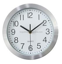 16cm 6 inch diameter wall clock , aluminum wall clock