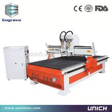 Easy operation cnc mould die engraving machine / two spindle