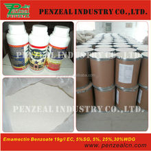 Emamectin benzoate 19g/l--40g/l EC, 5% WSG, WDG, 70%TC, agrochemical insecticide 11979-41-2