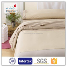 CVC 50/50 Cotton 40*40 133*100 Satin stripe fabric for bedding sets