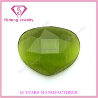 Loose cheap gemstone fake green eye cat price for jewels crystals names