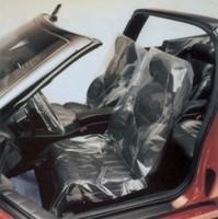 Qingdao clear plastic car seat covers
