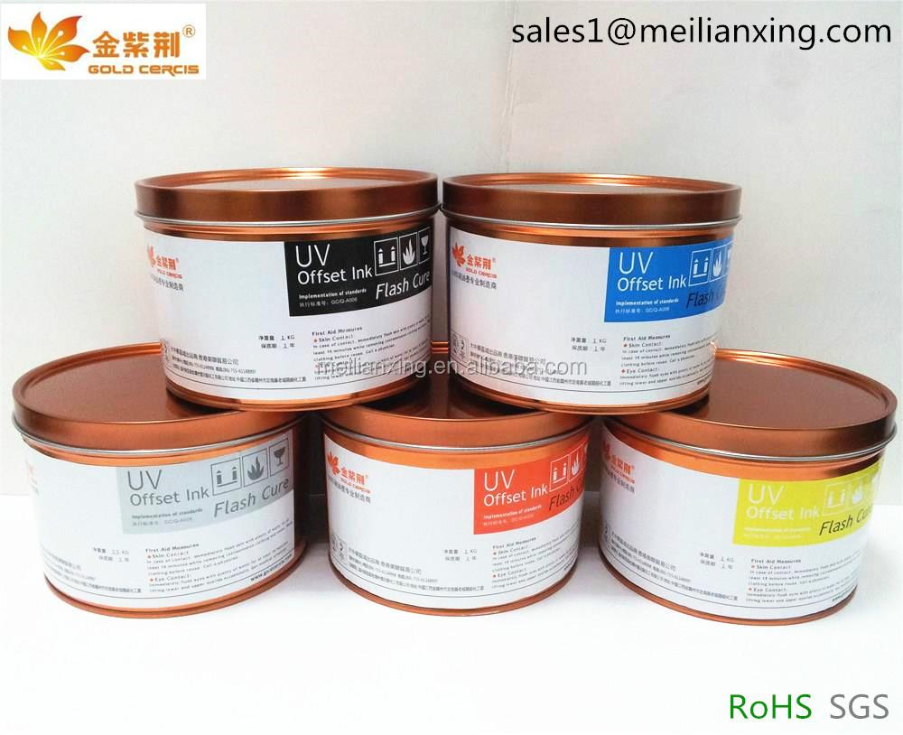Shenzhen impresión Offset UV tinta reductor (papel lotería)