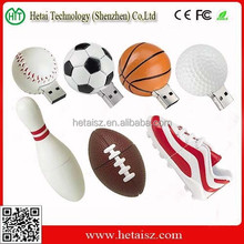 promotional gift ball usb flash drive, football basketball bowling usb 4 gb, ball shaped usb 1gb cheap