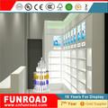 Farmacia escaparate de exhibisión módulo de pared para farmacia