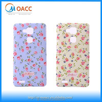 coloured drawing cell phone case for huawei ascend mate 7,pc case for huawei ascend mate 7