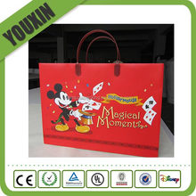 high quality fancy craft advertising paper bag