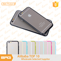 BRG Manufacture For iPhone 6 rubber bumper, for iPhone 6 Hard Plastic Case