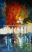 Modern Oil Painting Trees
