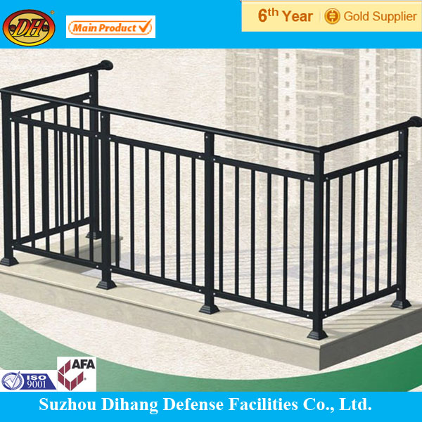 Wholesale lowes wrought iron railings balcony grill for Handrail design for balcony
