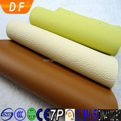 Luxury/classic eco-friendly waterproof anti-mildew durable leder dyeing sofa leather leatherette fabric