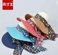 venta al por mayor 2014 nueva moda sombreros de paja para decorar