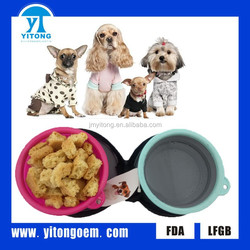 Large Capacity Collapsible FDA Approved Supreme Dog Bowl