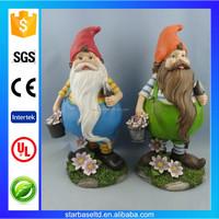 OEM decorative polyresin garden gnome dwarfs for sale