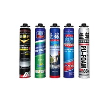 adhesive foam gun adhesive spray insulation polyurethane sealant