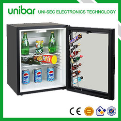 Noiseless absorption refrigerator,minirefrigerator stand,small bar (USF-38)