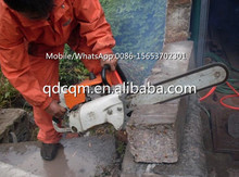 Coal/rock cutting/reinforced concrete pipe ideal tool chainsaw