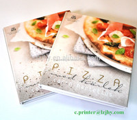 CMYK printing hardcover cooking books with customized