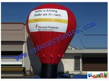 2012 Hot sell Inflatable ground balloon,commercial air land balloon