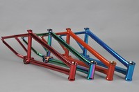 Chromoly4130 Butted cp red frame used bmx bike parts