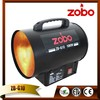 Professional And Leading Manufacturer ZOBO 10KW Portable Gas Heater