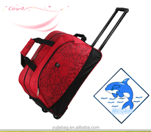 2015 The special design laptop red travel trolley bag