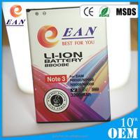 EAN OEM cellphone battery for Samsung note3 n9000 n9006 n9008 n9009