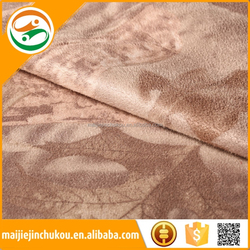 Beat sale sofa print suede fabric sofa backing brush fabric/sofa fabric manufacturers