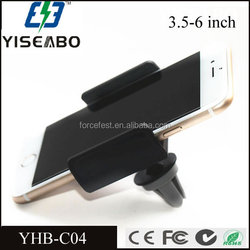 Universal Mini Air Vent condition Car Mount Mobile Phone Holder support movil car for Iphone 4 4s 5 5s 6 plus for LG G2 G3 G4