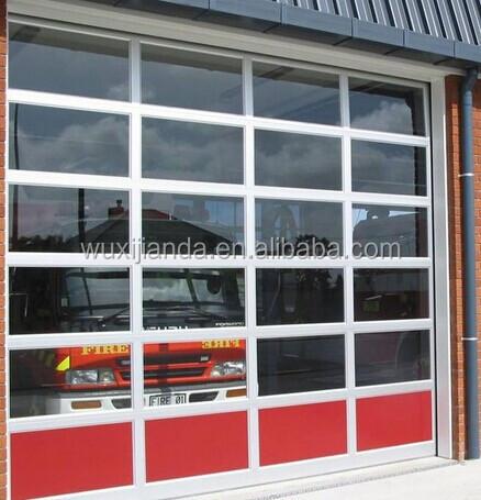 Sectional Glass Garage Door Of Sectional Transparent Garage Door Industrial Glass Door