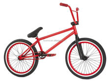 Hot sale freestyle steel frame bmx bike coloured bicycle bmx race red bike
