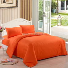 100%cotton solid color flat bed sheets