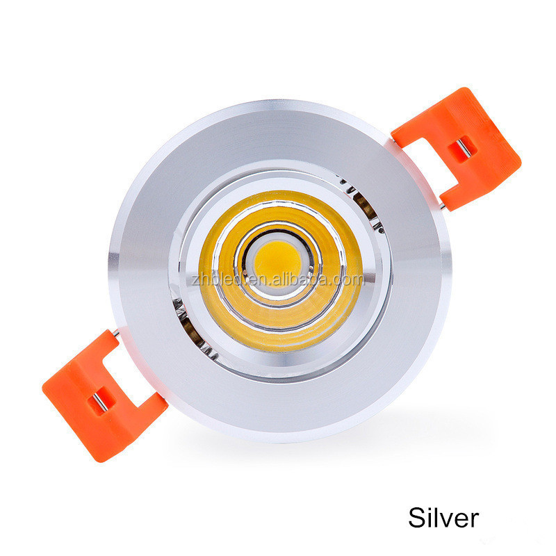 wholesale factory sale cob led downlight led recessed light 3w 5w 12w