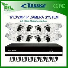 1080P 2.0 MegaPixel IP Camera Network CCTV System NVR Kit security alarm system home