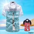 Camisas de moda para los hombres/de manga corta para hombre camisa de fantasía