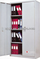 cold rolling steel filing cupboard with shelves used office