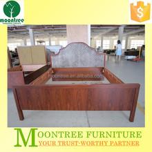 Moontree MBD-1127 rosewood veneer bedroom furniture design