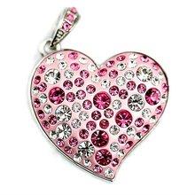 full capacity heart usb diamond drive jewelery usb flash