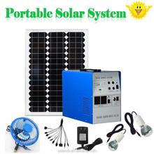 Mini solar generator 300W portable solar power system off grid solar system