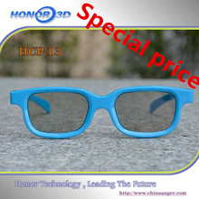 Factory directly supply plastic polarized 3d glass for 3d movies,3d personal cinema glasses