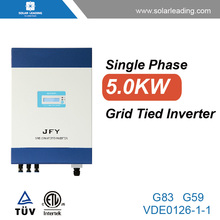 Best price 5kw pv on grid inverter connect to twin cable for solar energy generator system