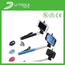 Hot stuff top sale best selling selfie stick extendable bluetooth monopod