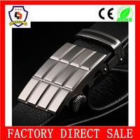 Cheap high quality Fashion Custom adjustable military metal belt men buckle