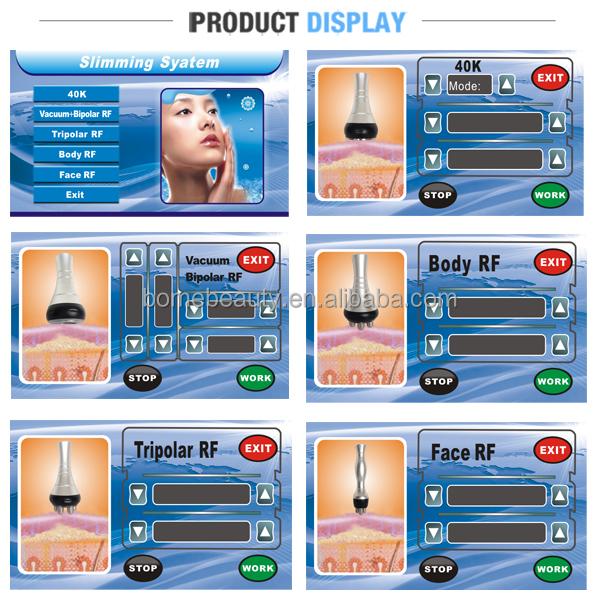 人気の超音波キャビテーション真空rf美容室の装置仕入れ・メーカー・工場