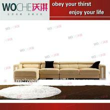 sitting room sofa corner sofa color sofa living room furniture (WQ6871)