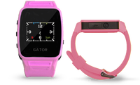 children kids student youth running gps tracker android ios App smart waterproof IP65 GPS Location Tracking watch--Caref Watch