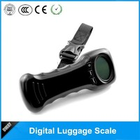 best price mini digital luggage scale 44kg 10g with Stainless steel shackle or strap
