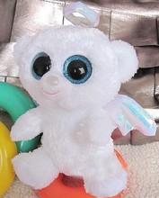 Lovely big eye animal toys plush angel bear toys for kids