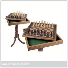 Train Chess Game , Wooden Chess Table , Educational Toys Chess